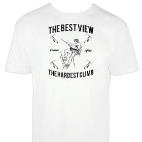 Camiseta hombre The hardest climb personalizable