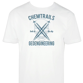 Camiseta hombre Chemtrails personalizable