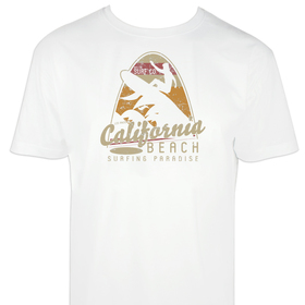 Camiseta hombre California Beach personalizable