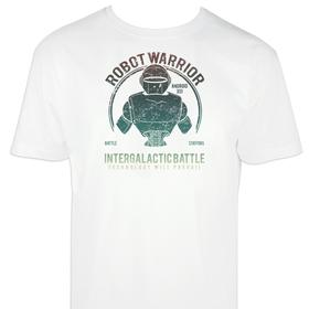 Camiseta Robot warrior para hombre personalizable