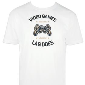 Camiseta Video games para hombre personalizable