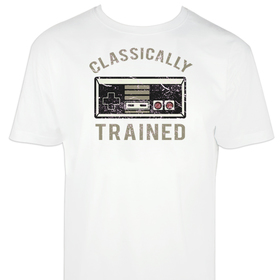 Camiseta Classically trained para hombre personalizable