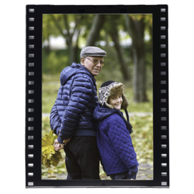 Marco de fotos Film personalizado con 1 foto 10x15 vertical