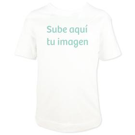 Camiseta infantil con imagen personalizada