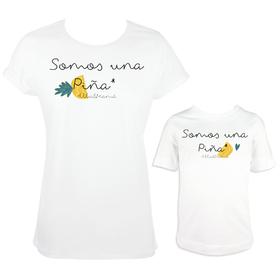 Camiseta madre e hijo/a Somos una Piña
