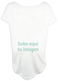 Camiseta mujer amplia para embarazada con imagen personalizada