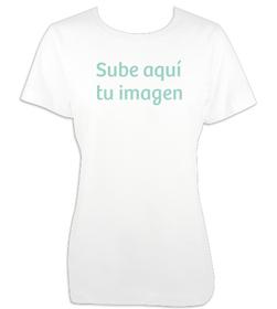 Camiseta mujer básica con imagen personalizada
