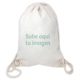 Mochila de algodón orgánico personalizada con foto