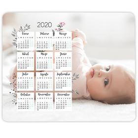 Alfombrilla de ratón personalizada Calendario 2020