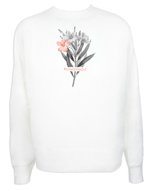 Sudadera mujer Flores personalizable