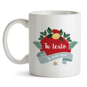 Taza original Ribbon&Flores