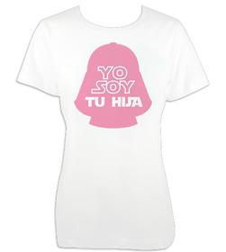 Camiseta mujer Yo soy tu hija personalizada