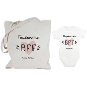 Bolsa y body Tía eres mi BFF