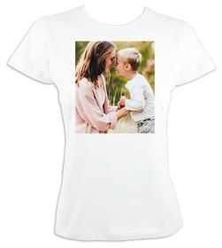 Camiseta original entallada para mujer con imagen personalizada