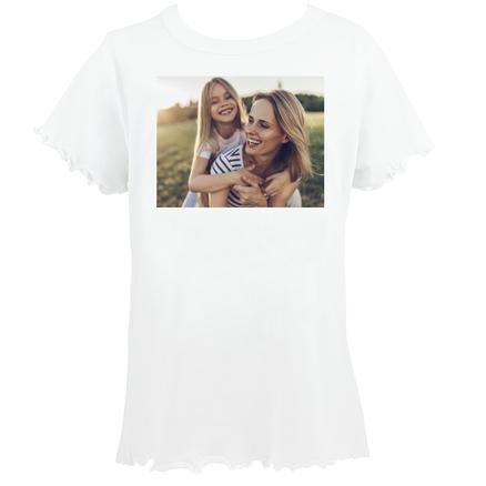 Camiseta original ondas personalizada con una foto