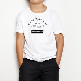 Camiseta #YoMeCorono infantil