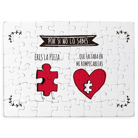 Puzzle cartón Eres la pieza