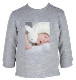 Sudadera bebé personalizada con una foto