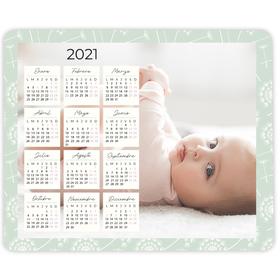 Alfombrilla de ratón personalizada Calendario 2021