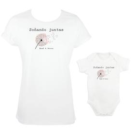 Camiseta y body para madre e hija Soñando juntas